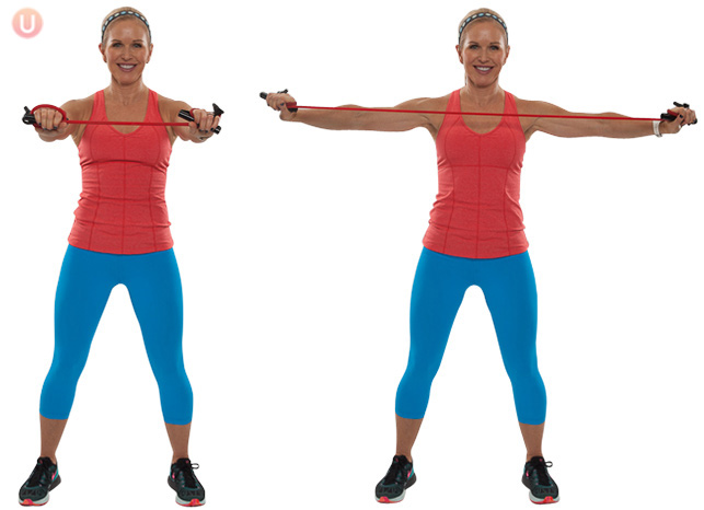 Upper Body Resistance Band Class North Shore Pro Active Health